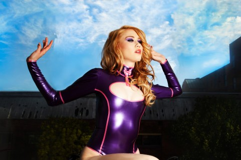 Fashion shoot Westward Bound Latex