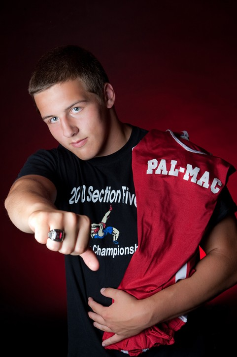 Senior Portrait, Pal-Mac Wrestling