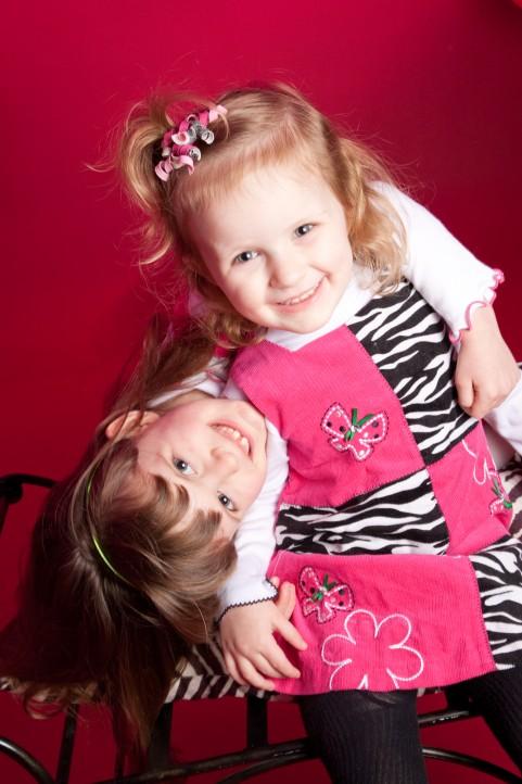 Sibling Fun Portrait