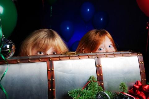 Sister Holiday Portraits