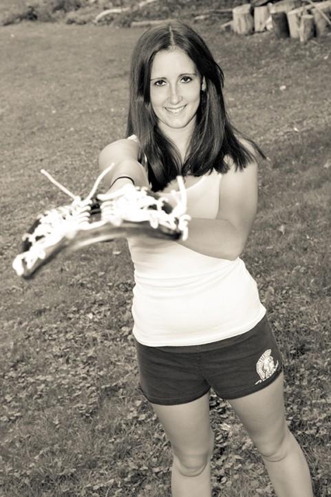 Senior Portrait Lacrosse, Gates-Chili